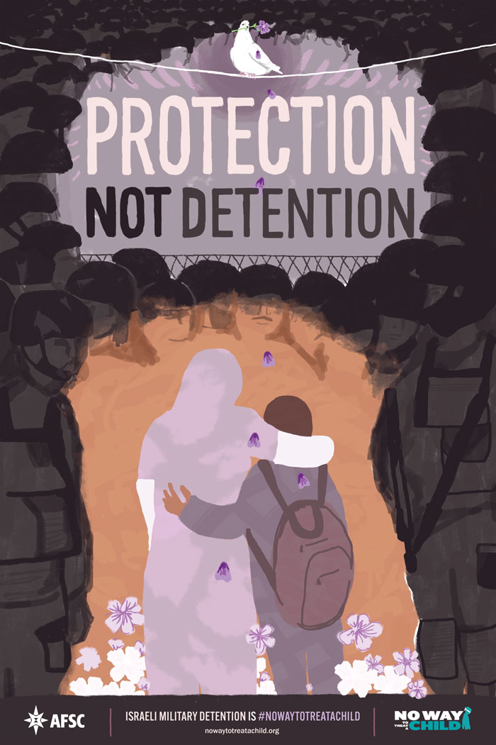 Protection not detention poster