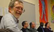 Corporation Members take part in a workshop on the Occupy/Unoccupy Movement