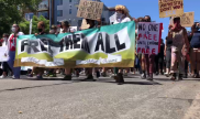 #FreeThemAll march in San Diego