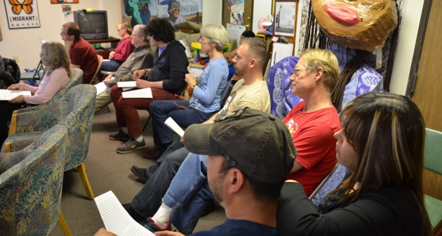 A group of Denver activists attend a meeting on how to support their Muslim neighbors.