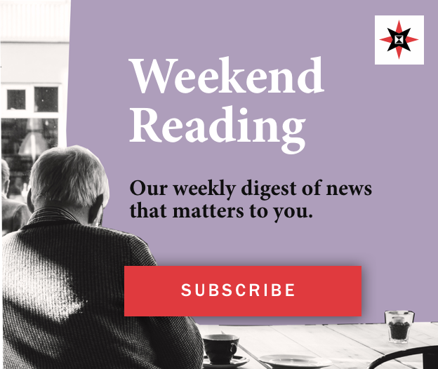 weekend reading ad sq