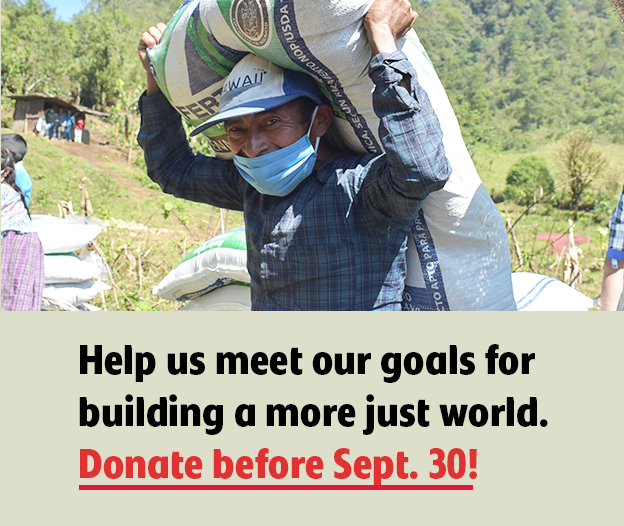 Make a gift for the end of our fiscal year