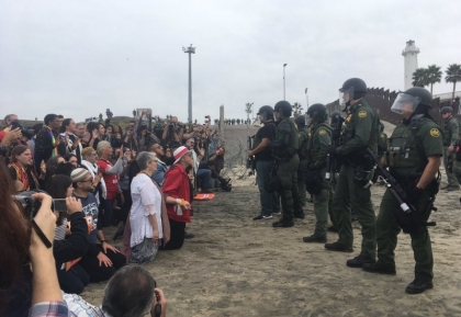 religious leaders arrested at the border