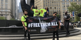 Free Them All event in NYC
