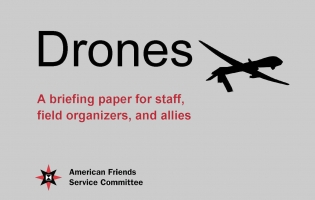 Cover of Drones Briefing Paper