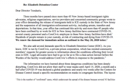 EDC Letter to ICE 07 08 2020 Cover