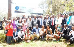 Kenya Peace Conference 2015 group photo