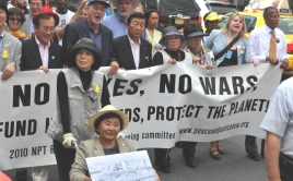 March at the 2010 NPT conference.