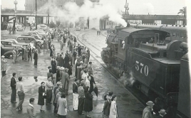 Train to Japanesse Internment Camps March, 1942