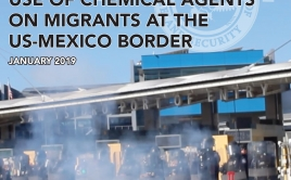 Report on Use of Chemical Agents Against Migrants