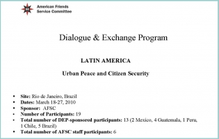 """Image of """"Urban peace and citizen security"""" report"""