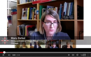 Mary Zerkel screenshot of google hangout on immigration enforcement and drones