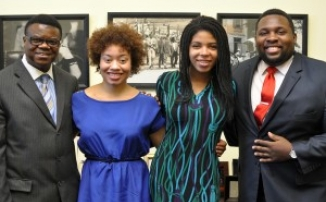 AFSC staff and young people lobby for human rights in Washington, D.C.