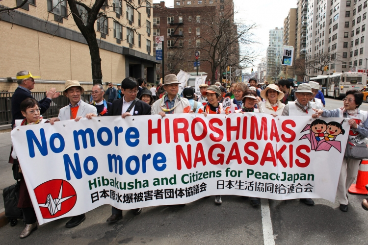 Mass mobilization in 2015 during NPT conference