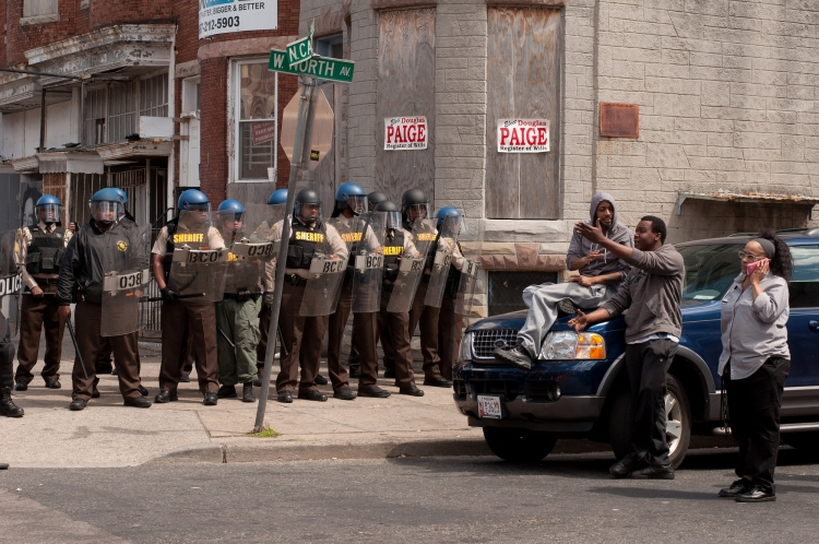 A different view of the Baltimore Uprising