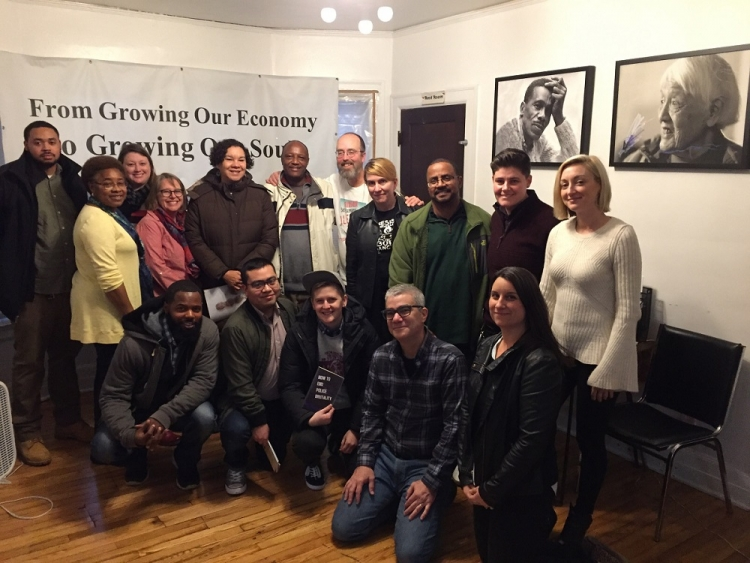 Midwest staff visit the Boggs Center in Detroit