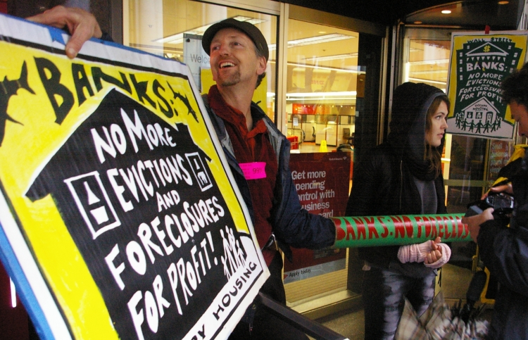 David Solnit with Occupy San Francisco