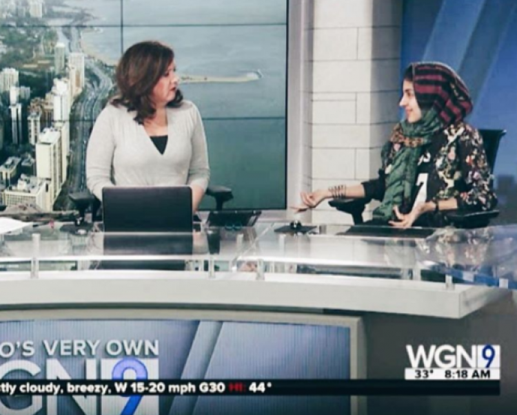 Hoda Katebi on WGN TV