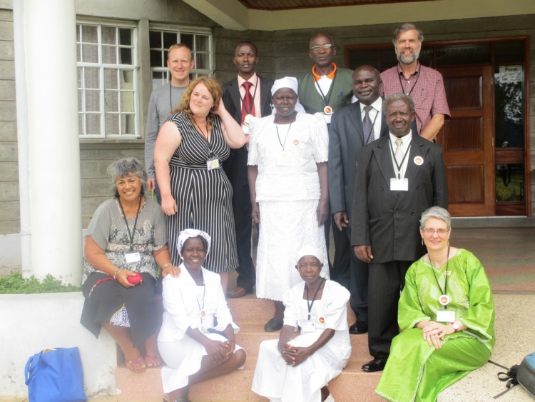 Home Group at World Conference of Friends