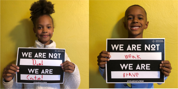 We Are Not at Risk - St. Louis children