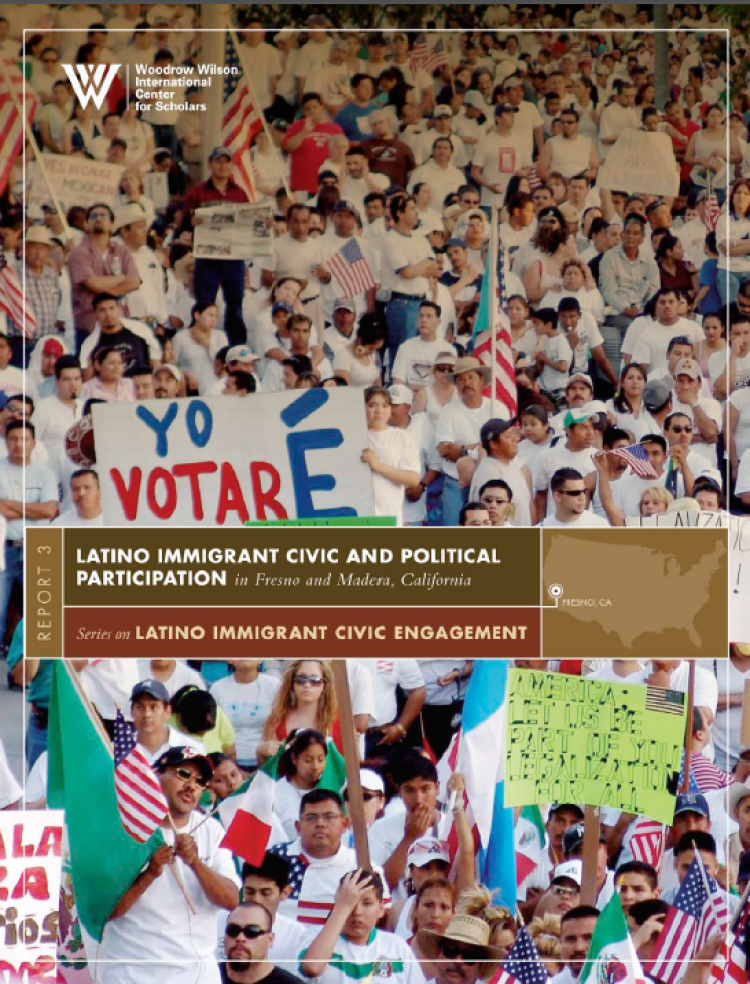"""Cover of the """"Latino Civic Engagement"""" report"""