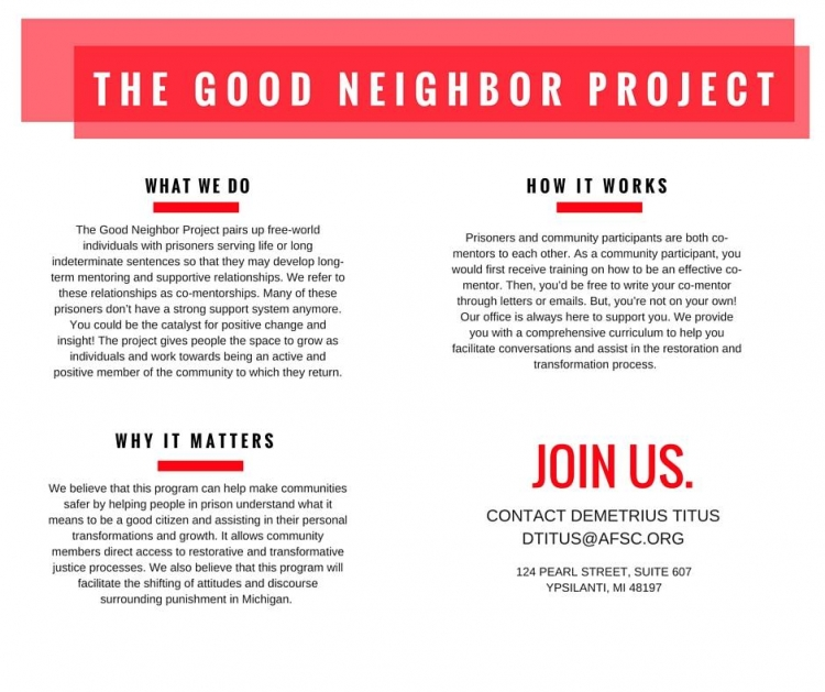 Good Neighbor Project description