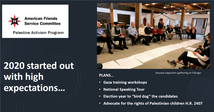 Palestine Activism Program 2020 Year in Review