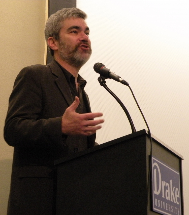 Rabbi Brant Rosen speaks at Drake 4-29-13