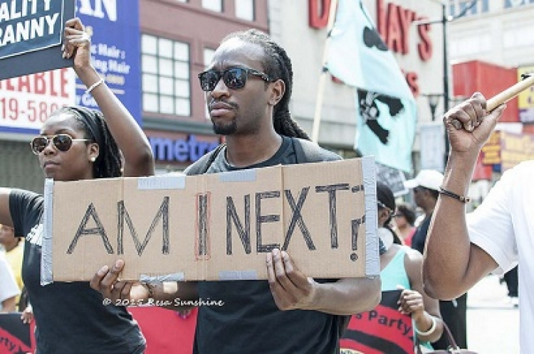Million People's March Against Police Brutality in Newark, NJ