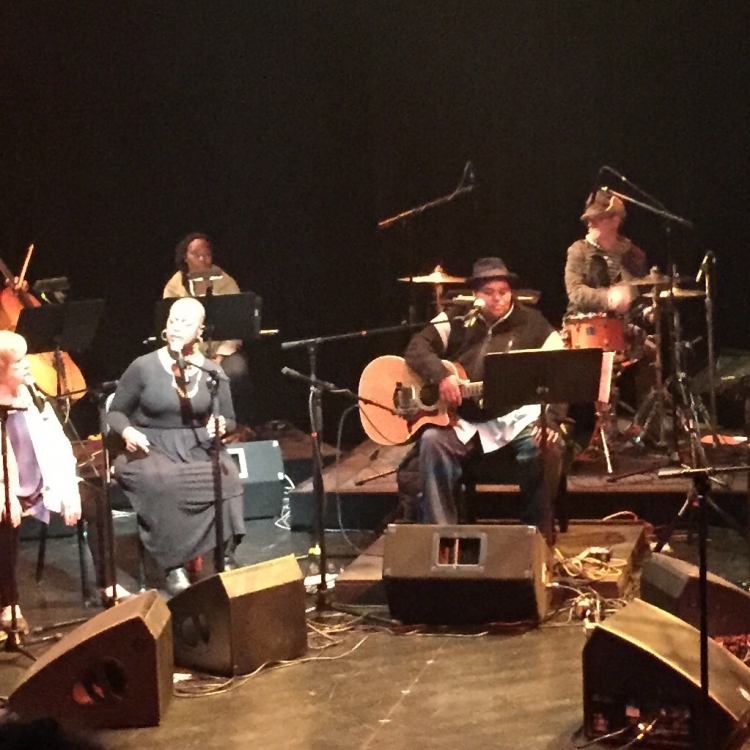 Toshi Reagon in Parable of the Sower at the Annenberg Center