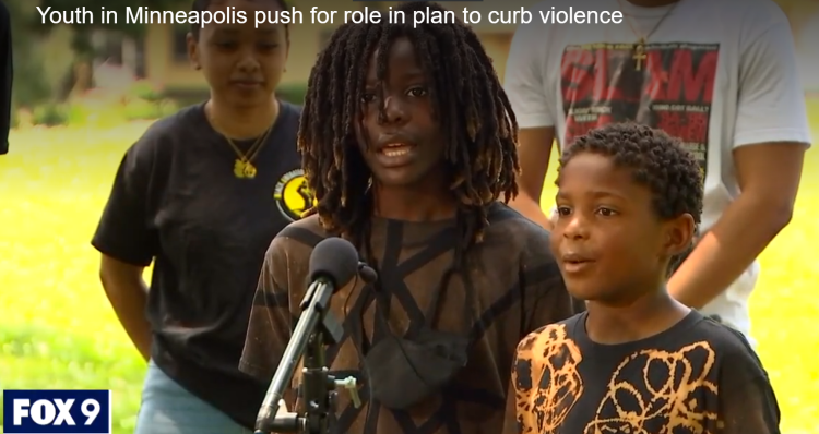Twin Cities YUIR press conference on violence