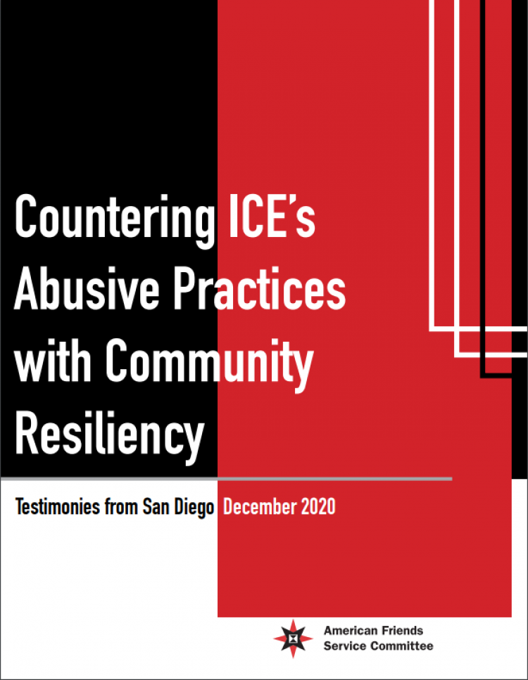 Countering ICE abuse practices report cover