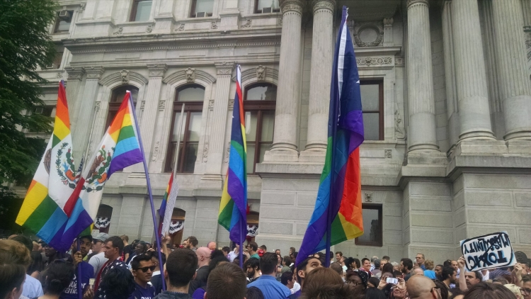 Vigil in the aftermath of the Orlando shooting