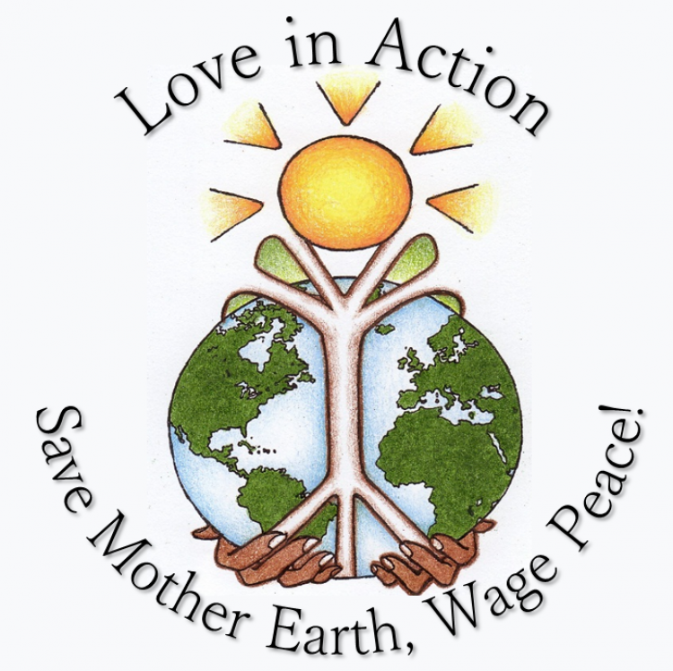 Love In Action Save Mother Earth Wage Peace American Friends