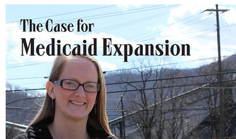 """The case for medicaid expansion"" report cover"