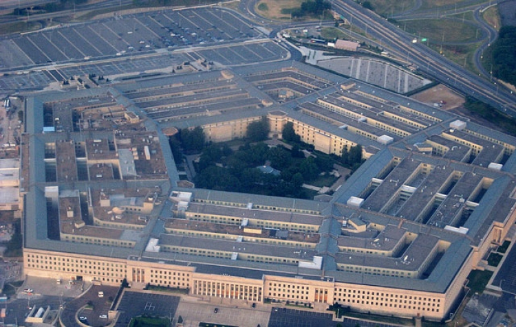 ariel view of the Pentagon