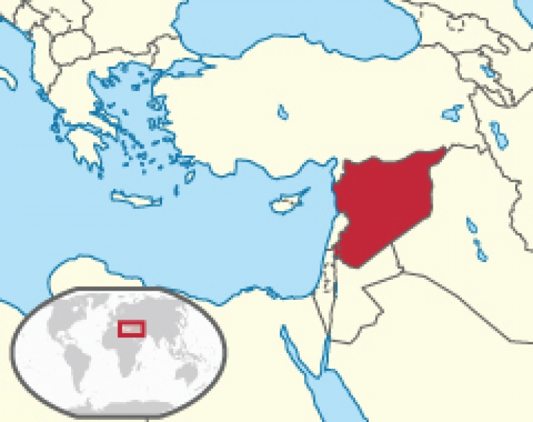 Syria's location
