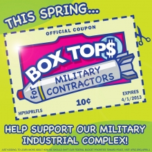 Box tops for military contractors