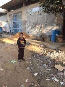 Child in Gaza