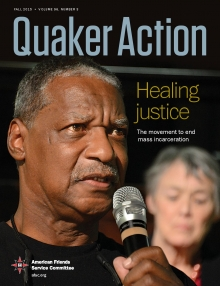 Quaker Action fall 2015 cover