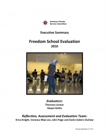 2010 Freedom School Evaluation Executive Summary