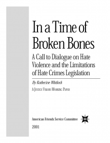 In a Time of Broken Bones Cover