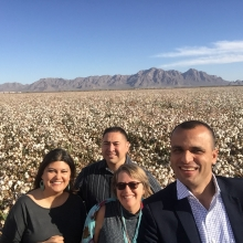 Mohammed Omer and AFSC staff in Arizona