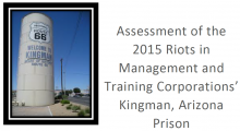 Cover of report on Kingman prison riots