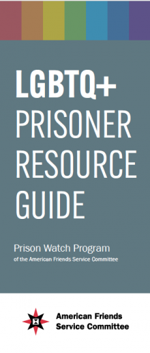 LGBT! prisoner resource guide cover image