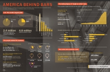 Infographic: America behind bars
