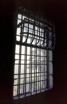 Window at Alcatraz by Jacqueline Poggi