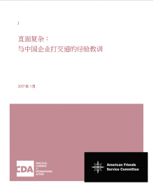 Confronting Complexity cover image Chinese version
