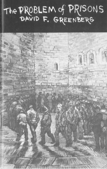 """""""the problem of prisons"""" cover with drawing of prisoners walking in a circle"""