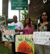 We are florida protest